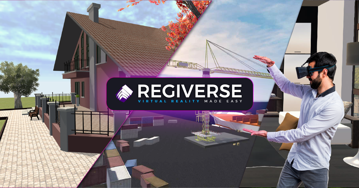 Presentazione della Realtà Virtuale di Regiverse