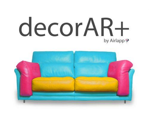 App mobile Configuratore Arredo decorAR+