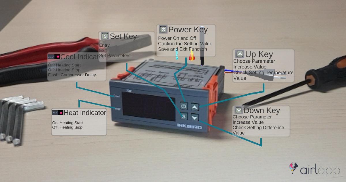 Manutenzione in Realtà Aumentata mediante Object Recognition su un ITC1000 - STC1000