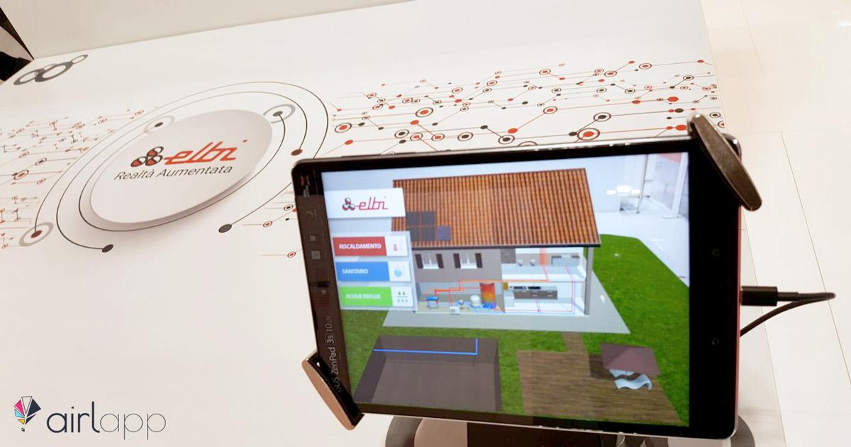 Elbi fiera MCE realtà aumentata - impianto riscaldamento