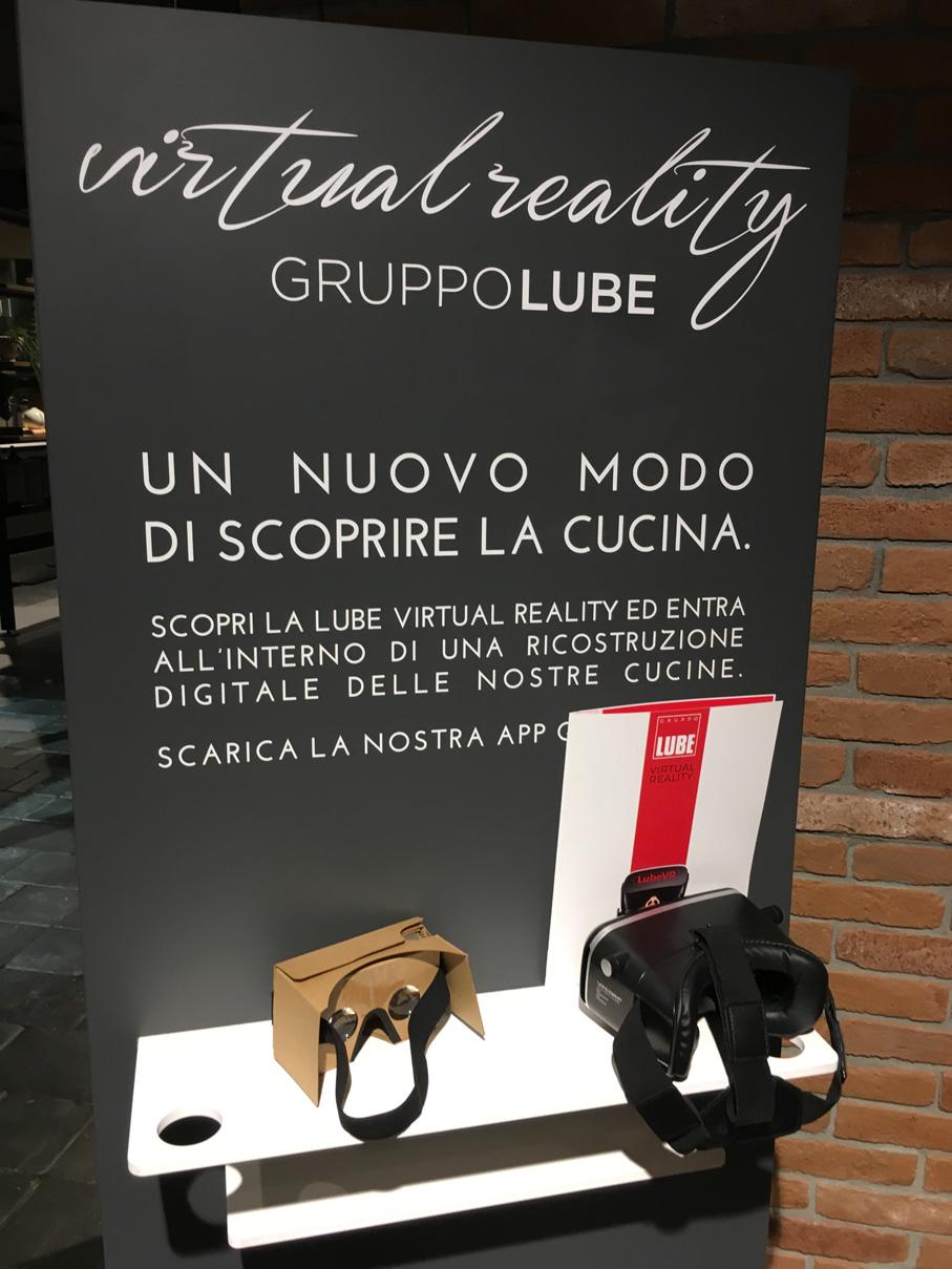 SALONE DEL MOBILE 2018: Realtà virtuale, la svolta dell'arredamento