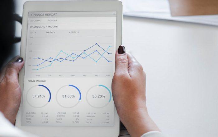 App aziendale con dei report grafici