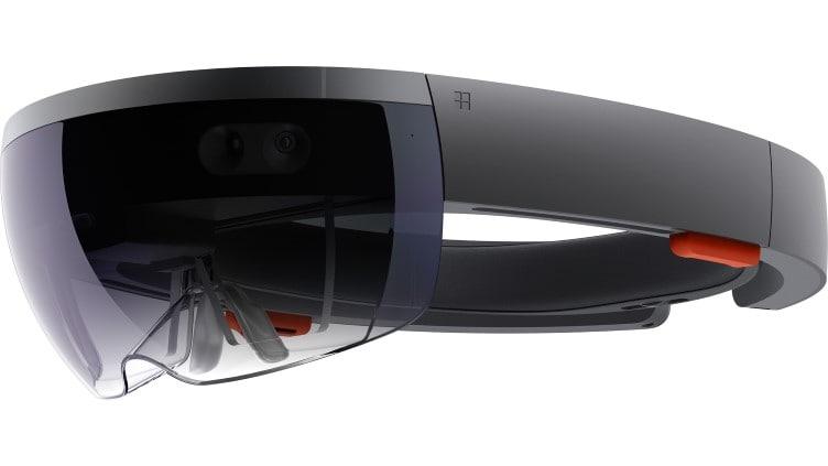 Il visore di realtà aumentata e mixed reality Microsoft HoloLens