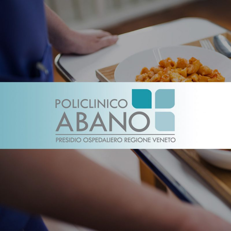 Copertina app food and beverage policlinico Abano Terme - Techmed