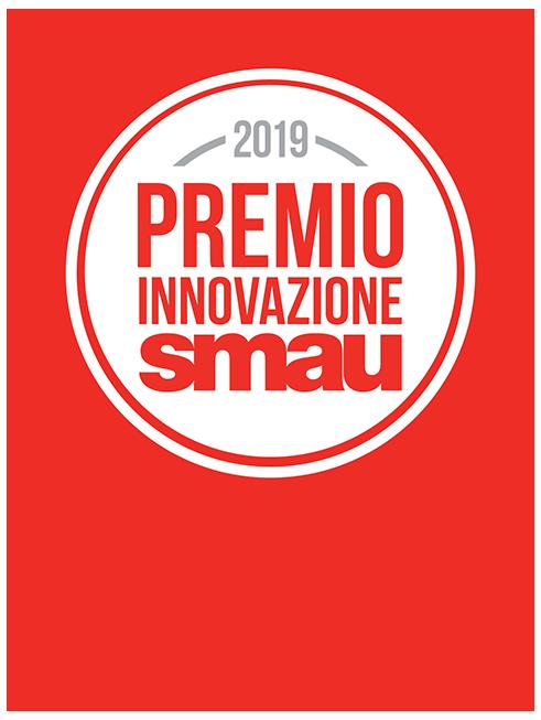 Coccarda premio innovazione SMAU 2019