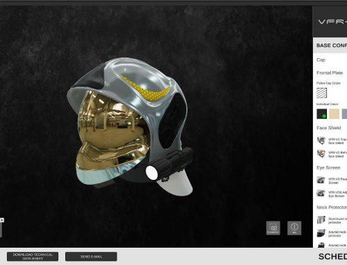 SICOR S.p.a. – Configuratore 3D online di caschi