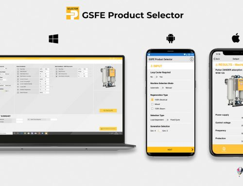 Protetto: GSFE Product Selector – software selezione prodotti Parker trattamento aria compressa