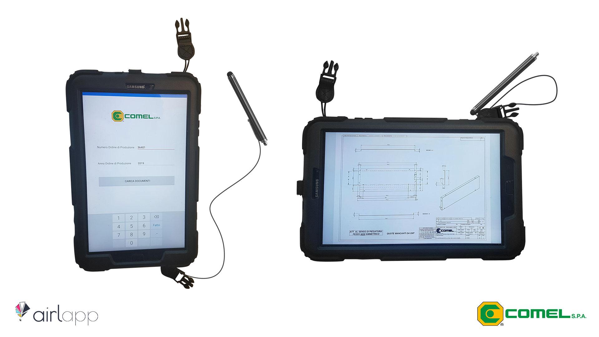 Tablet completi per Comel - Paperless - Airlapp