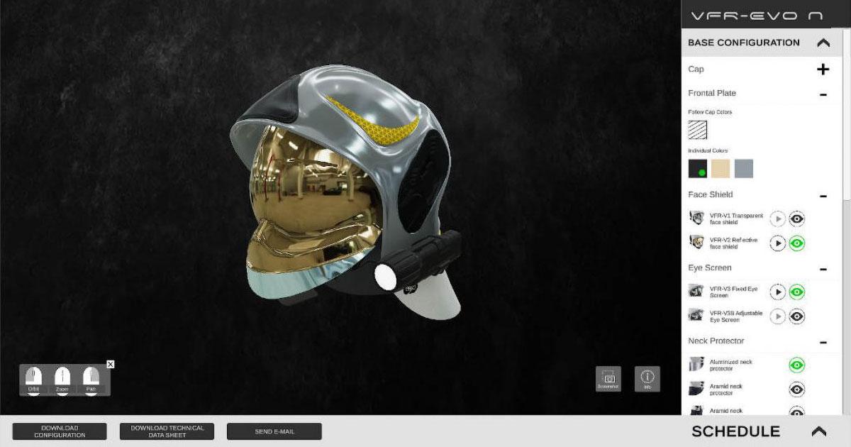 Configuratore 3D online Sicor S.p.a.